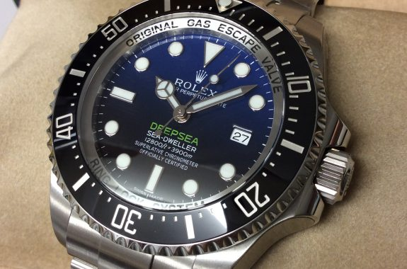 quality design b7013 ea3b1 ロレックス シードゥエラーディープシーDブルー | 大黒屋時計館 ...