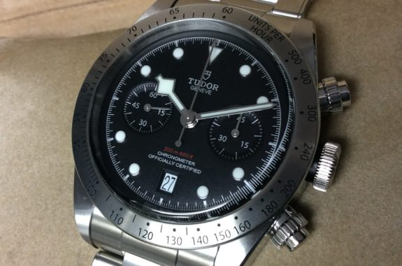 premium selection 928f5 be9b0 チューダー(チュードル) ヘリテージブラックベイクロノ 黒 79350 ...