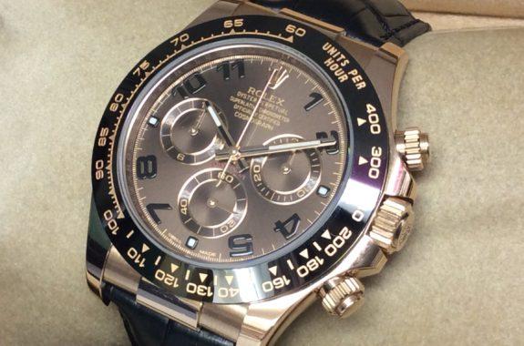 watch c2ccb 1288c ロレックス デイトナ 116515LN ランダム番 ブラウン文字盤 ...