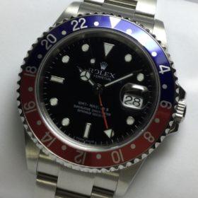 ロレックス GMTマスターⅡ 16710 Z番 青赤ベゼル 黒文字盤
