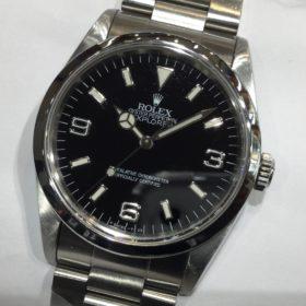 ロレックス エクスプローラー 14270 S番 黒 シングルトリチ